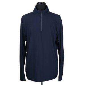 Lululemon Men's 1/4 Zip Athletic Pullover Navy